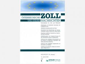 Österreichische Zoll- und Steuer-Nachrichten